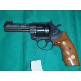 Revolver FLOBERT Alfa 641 černá dřevo
